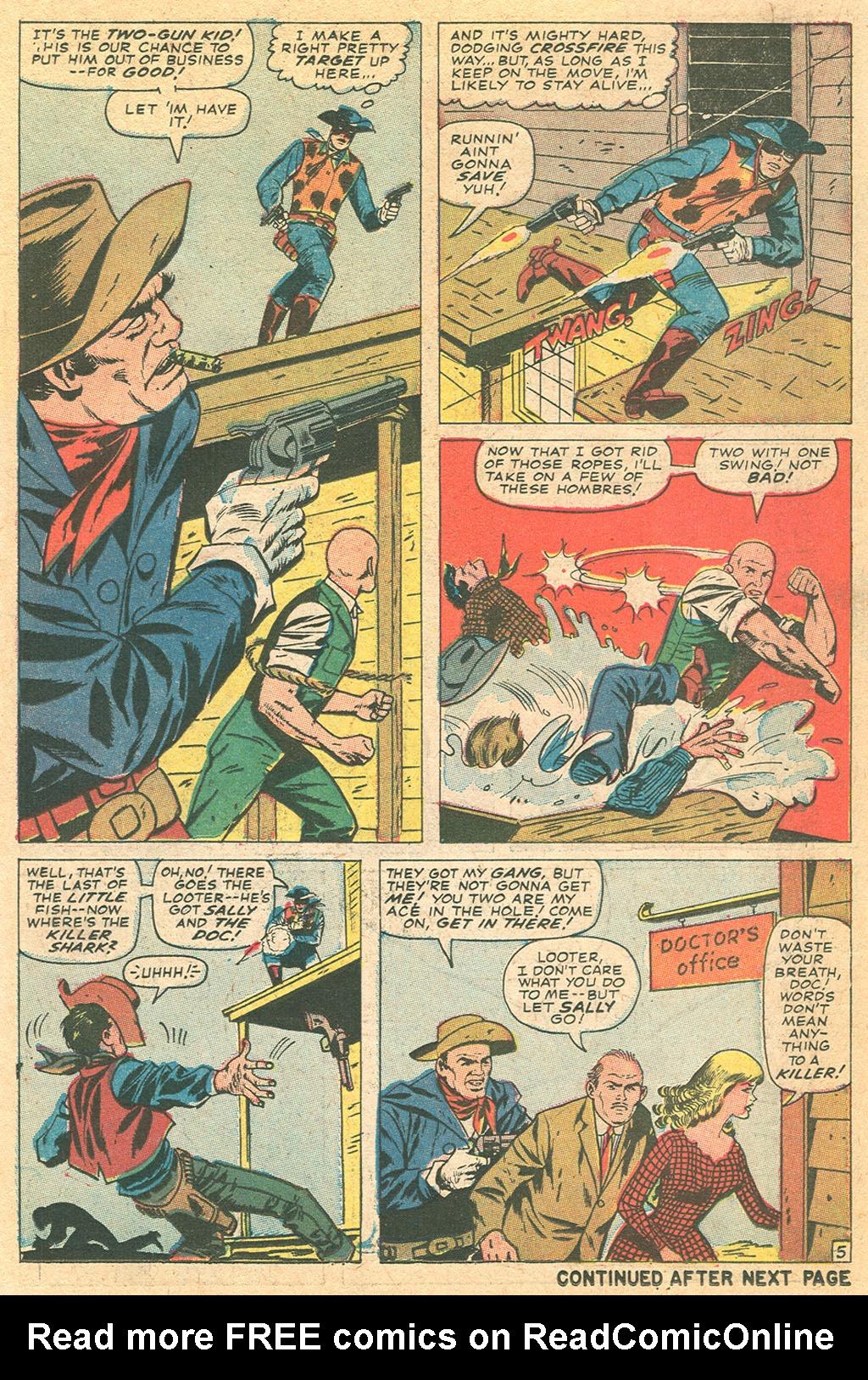 Read online Two-Gun Kid comic -  Issue #86 - 18