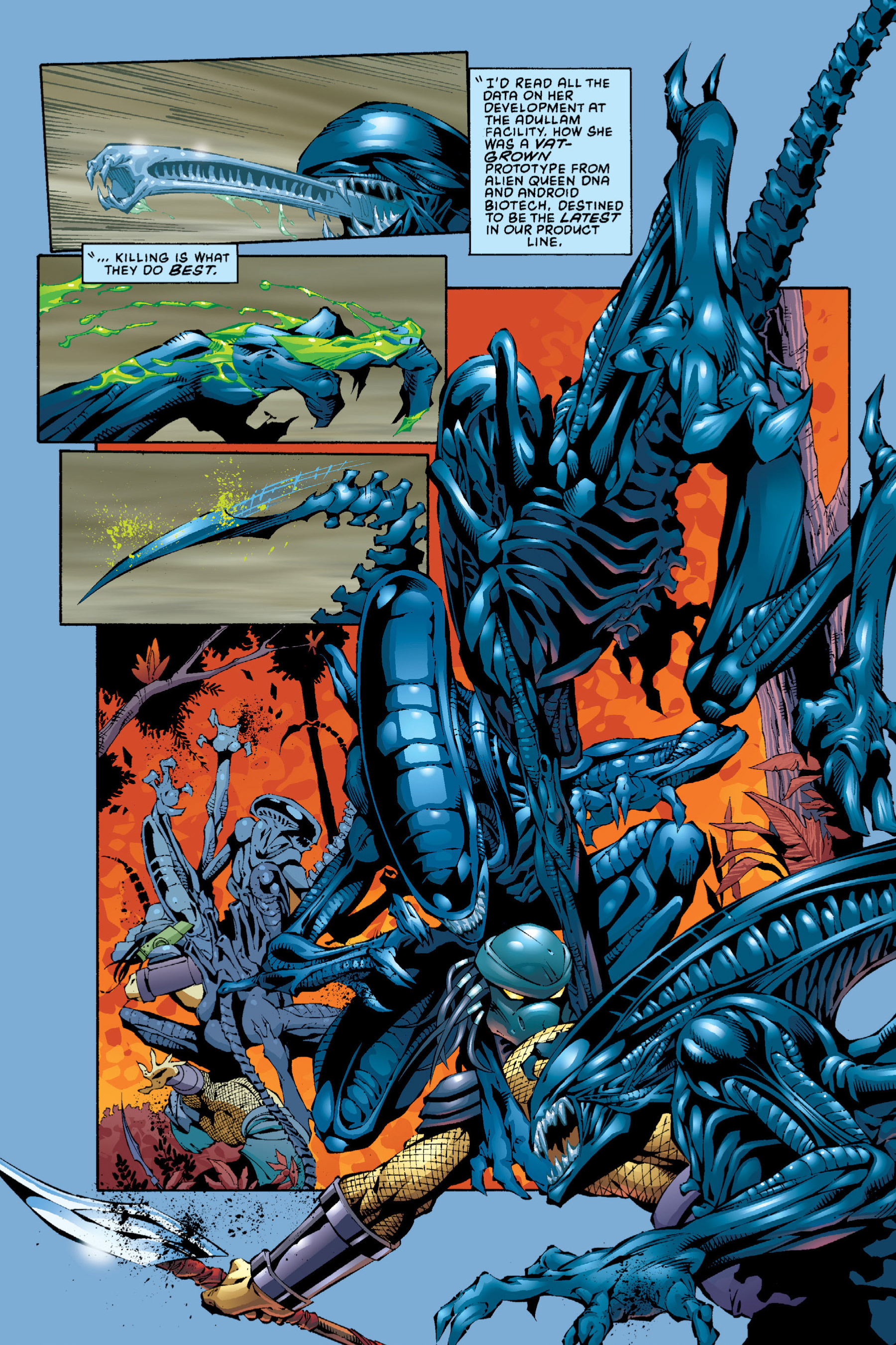 Read online Aliens vs. Predator Omnibus comic -  Issue # _TPB 2 Part 4 - 13