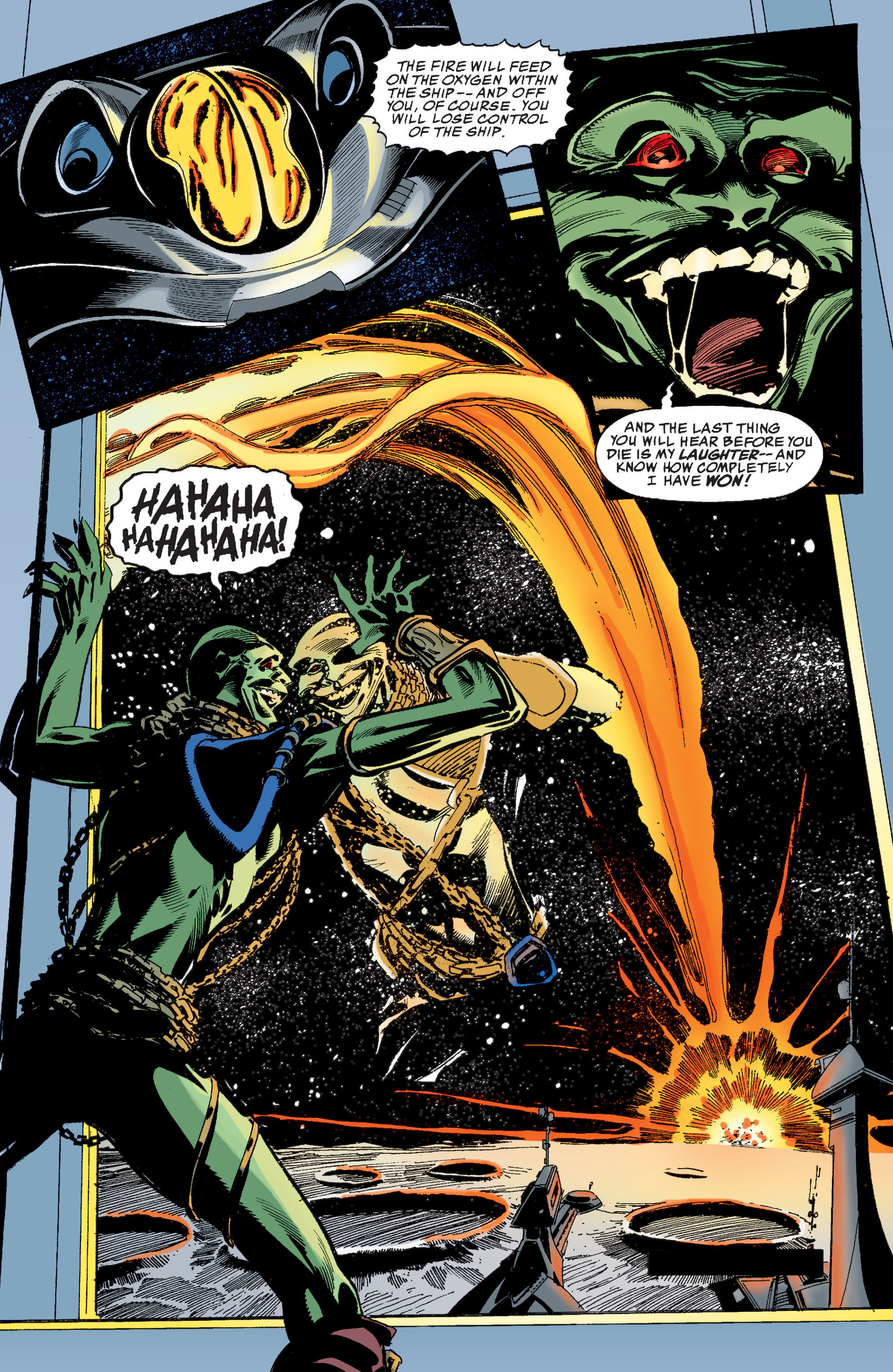 Read online Martian Manhunter: Son of Mars comic -  Issue # TPB - 188