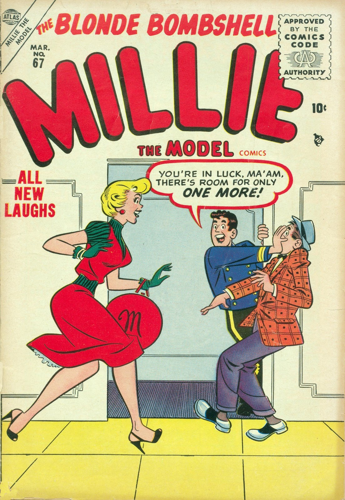 Millie the Model issue 67 - Page 1