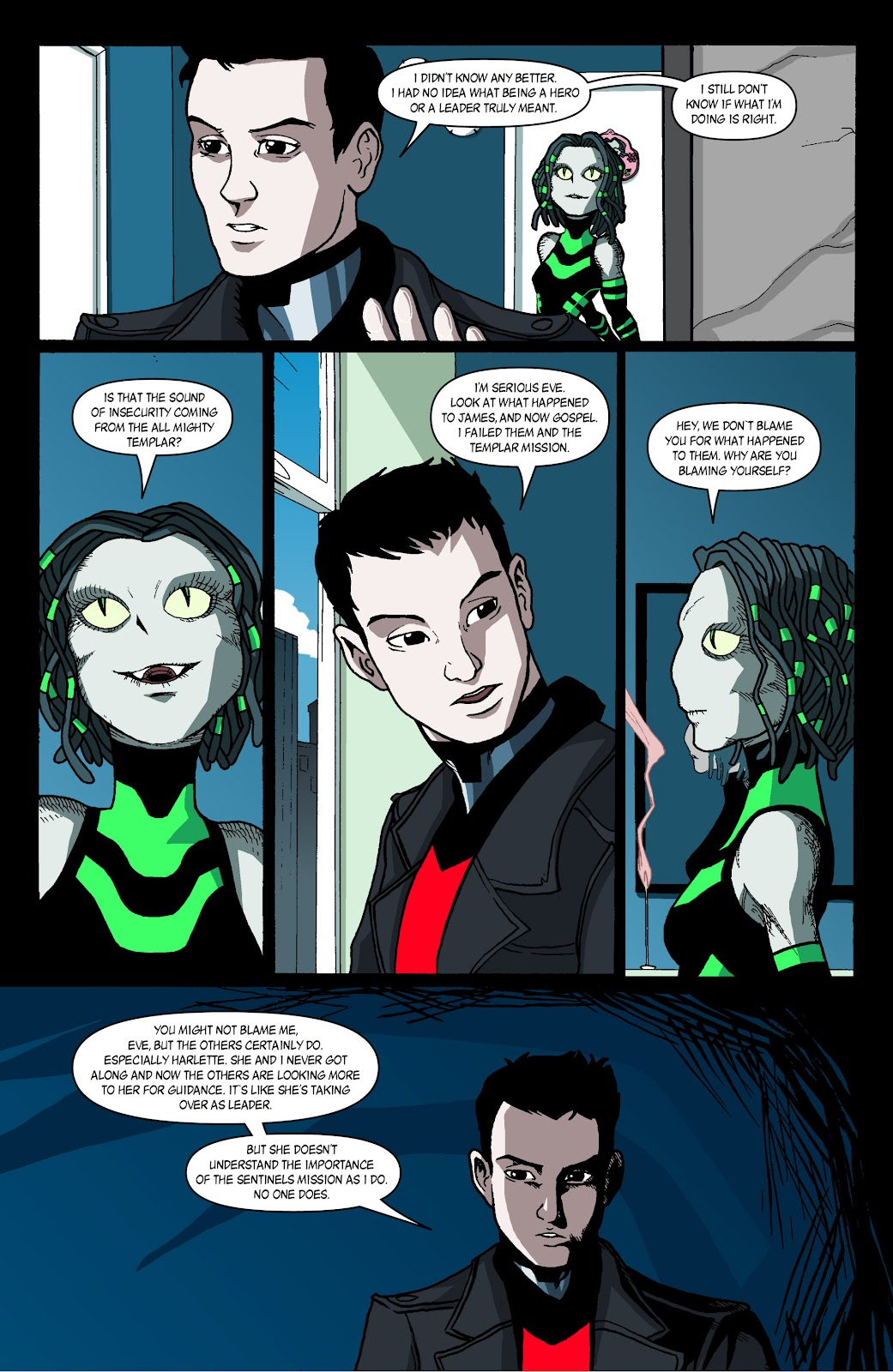Sentinels issue 4 - Page 14
