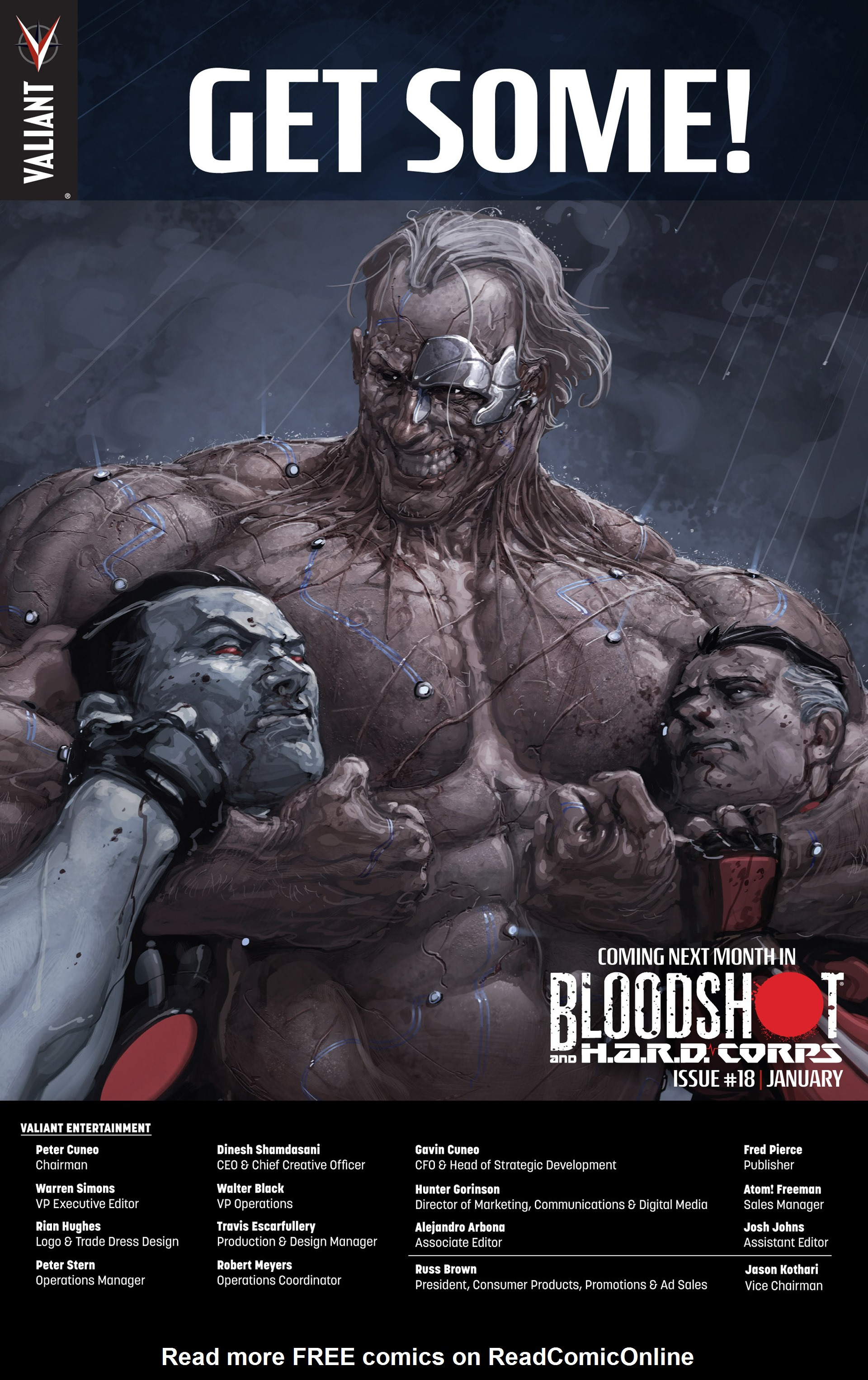 Read online Bloodshot and H.A.R.D.Corps comic -  Issue #17 - 25
