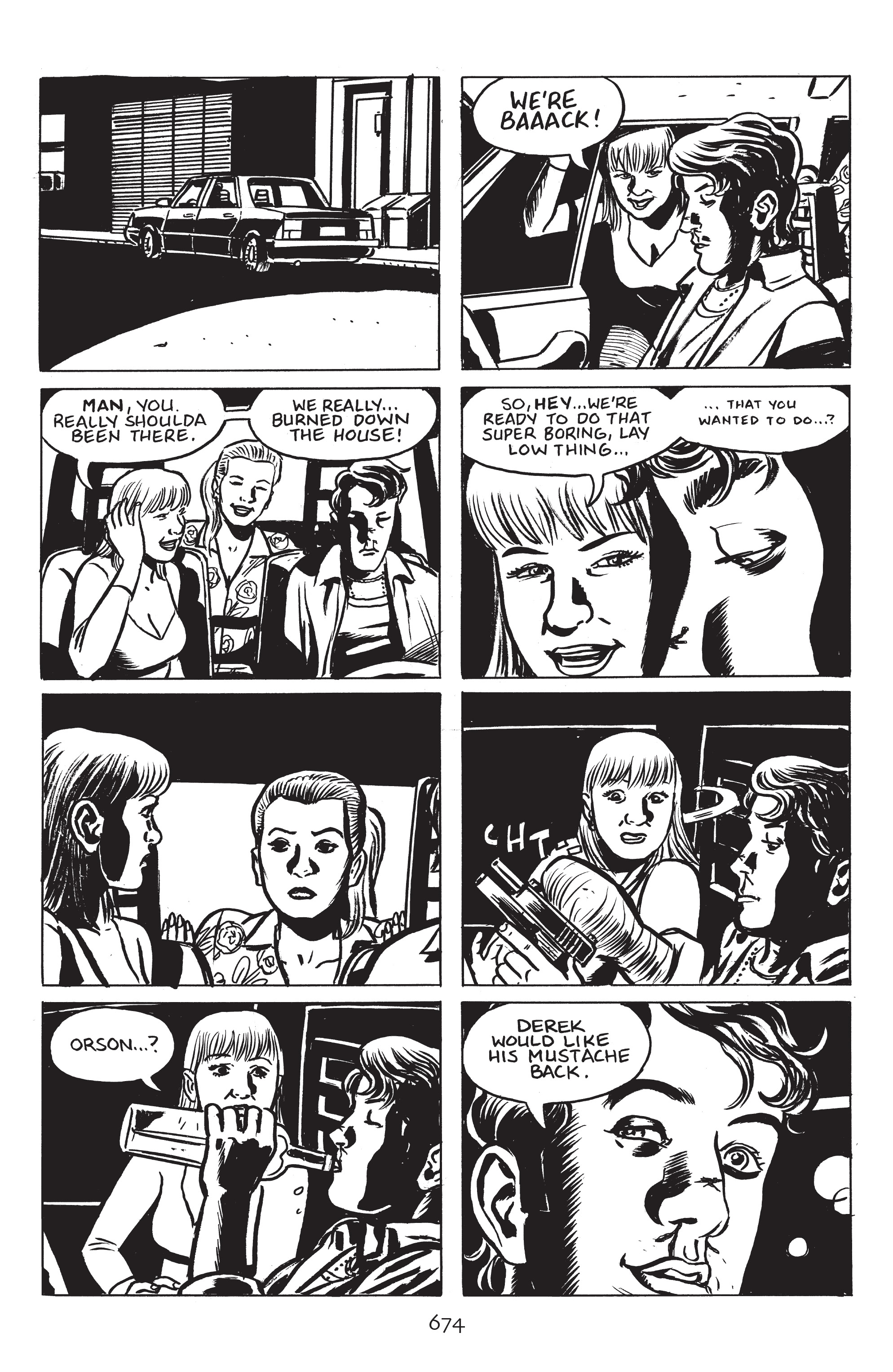 Read online Stray Bullets: Sunshine & Roses comic -  Issue #24 - 29