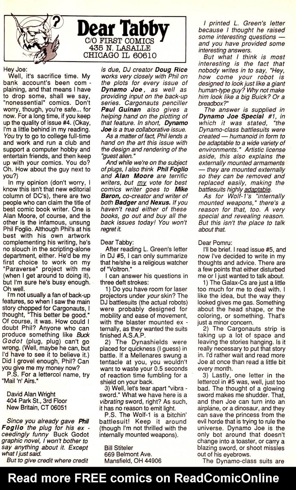 Dynamo Joe issue 8 - Page 28