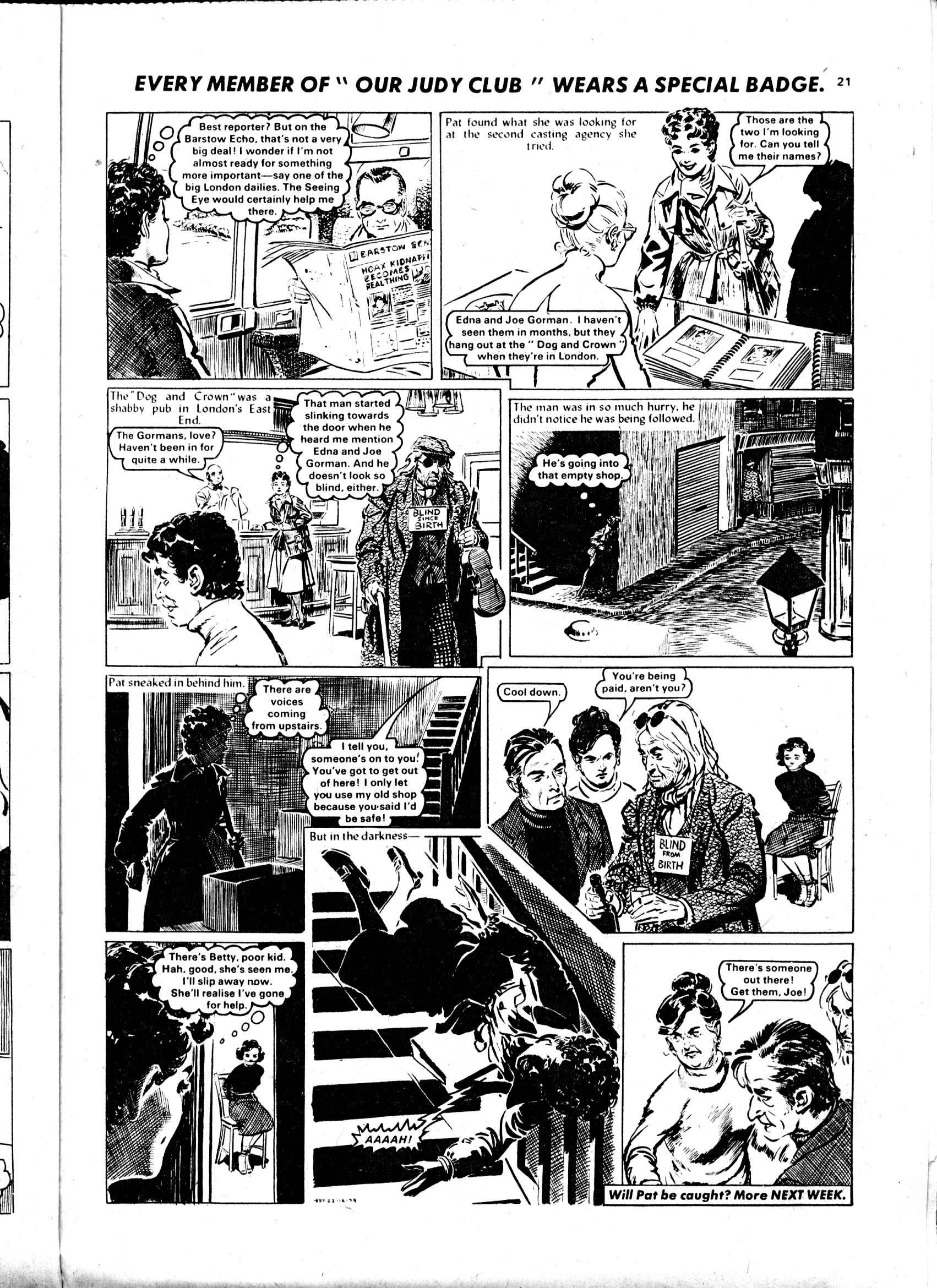 Read online Judy comic -  Issue #1041 - 21