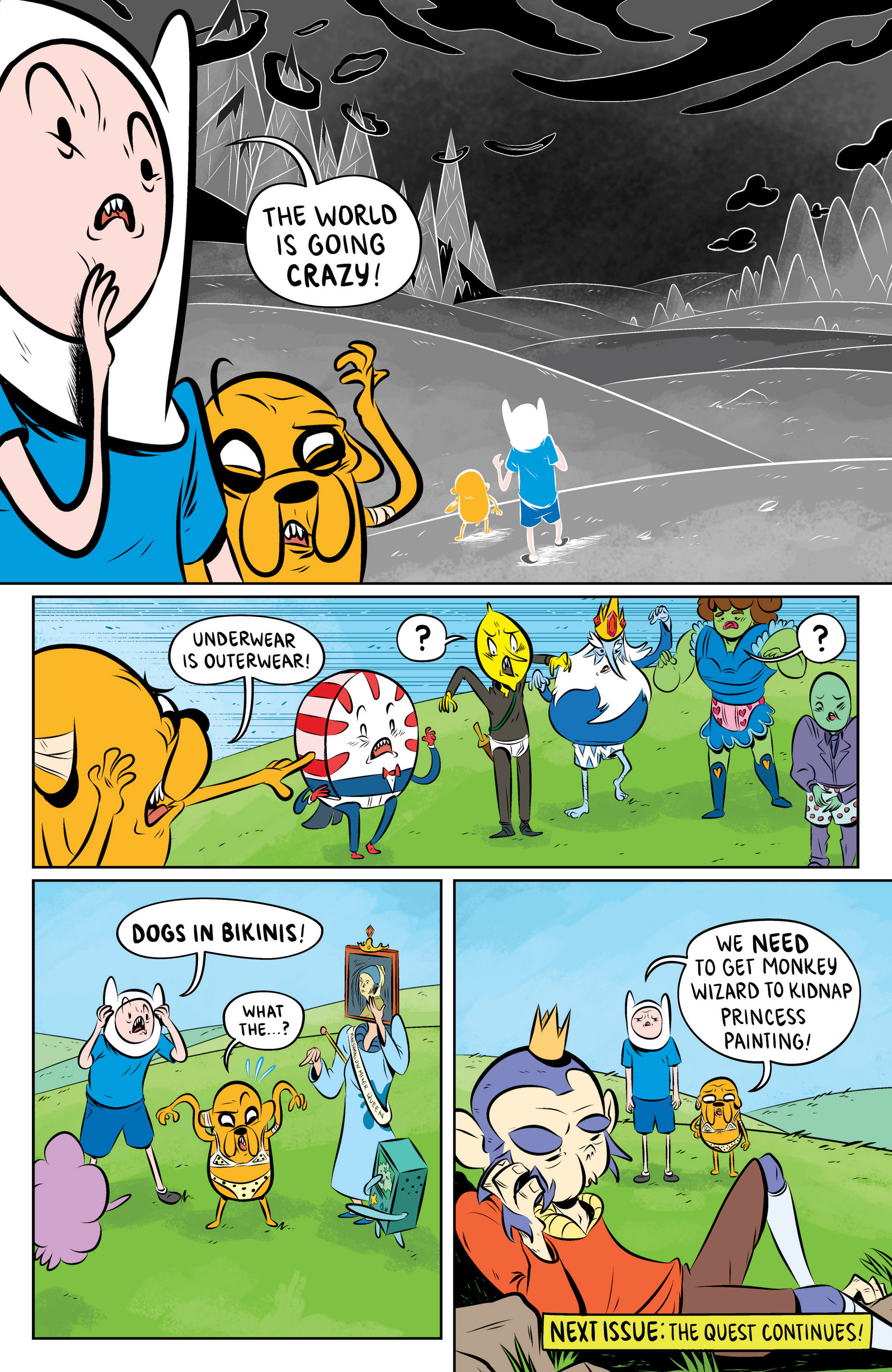 Read online Adventure Time: The Flip Side comic -  Issue #4 - 27
