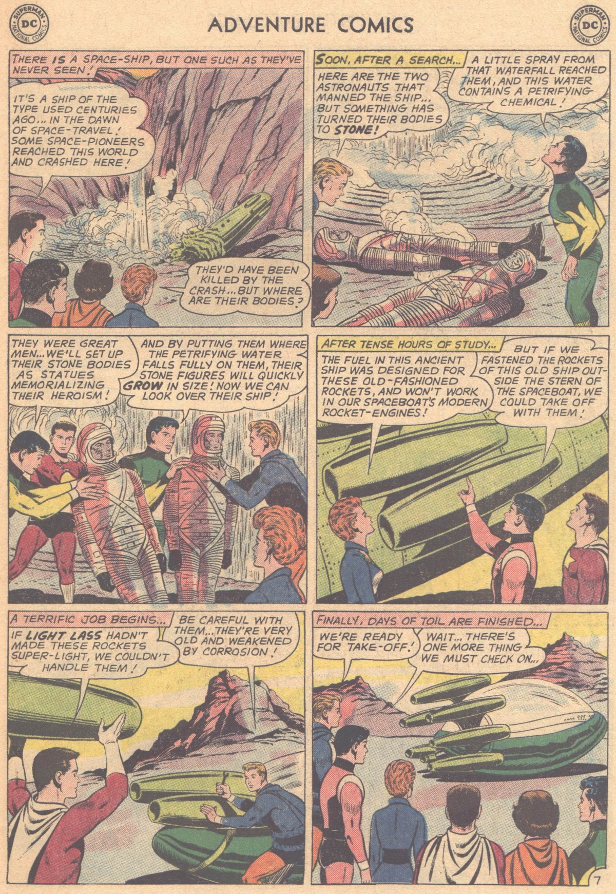 Read online Adventure Comics (1938) comic -  Issue #318 - 19