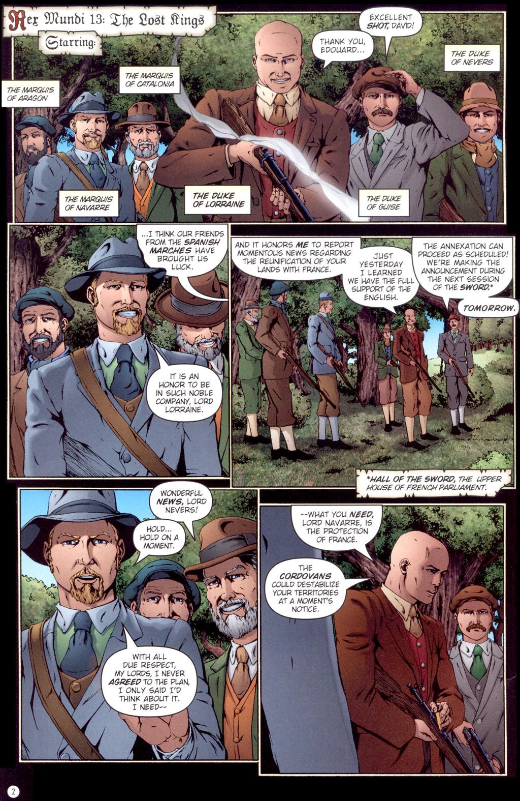 Read online Rex Mundi comic -  Issue #13 - 4