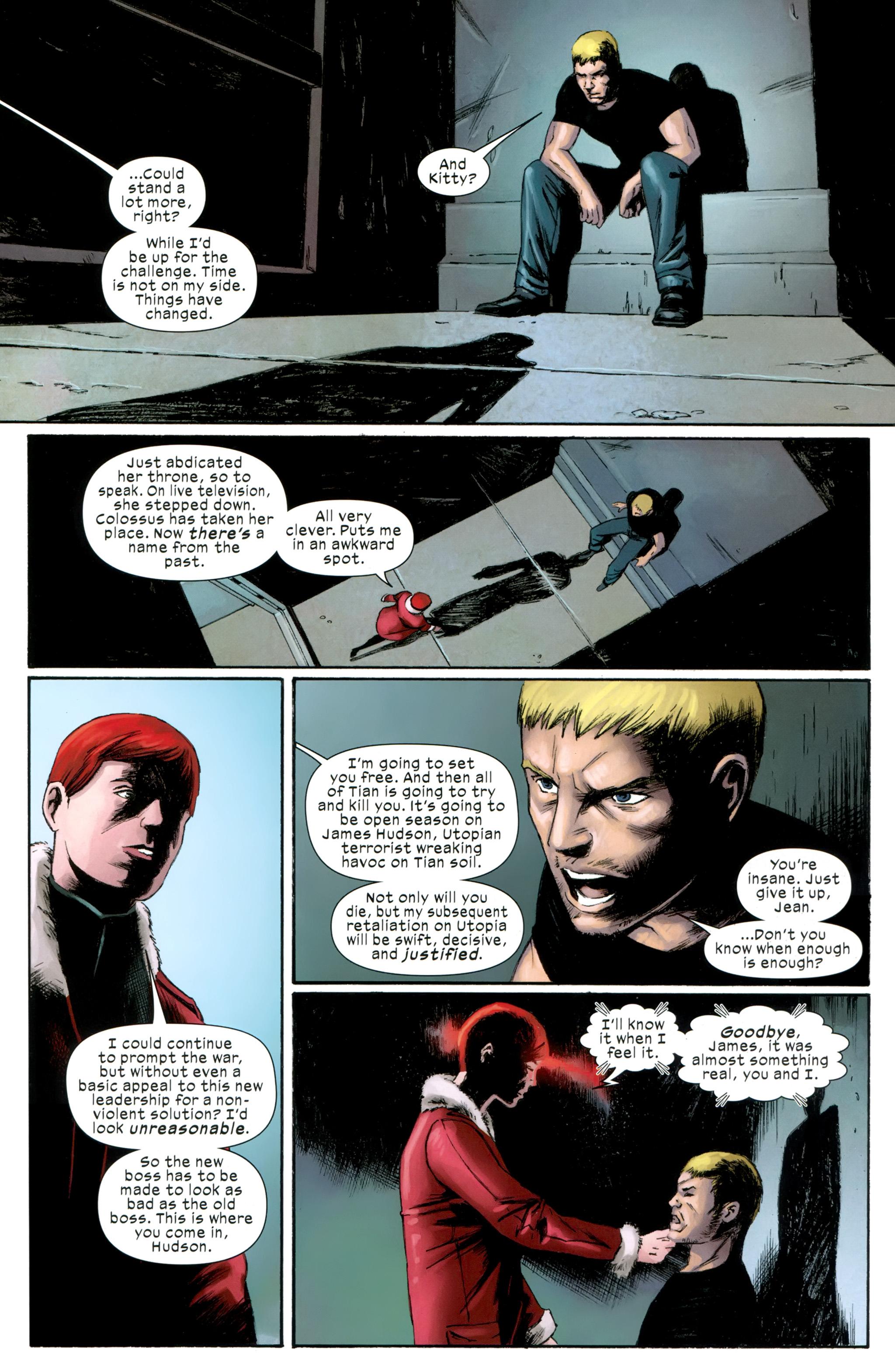 Read online Ultimate Comics X-Men comic -  Issue #31 - 20