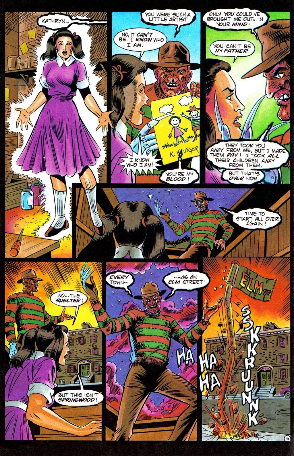 Read online Freddy's Dead: The Final Nightmare comic -  Issue #3 - 8