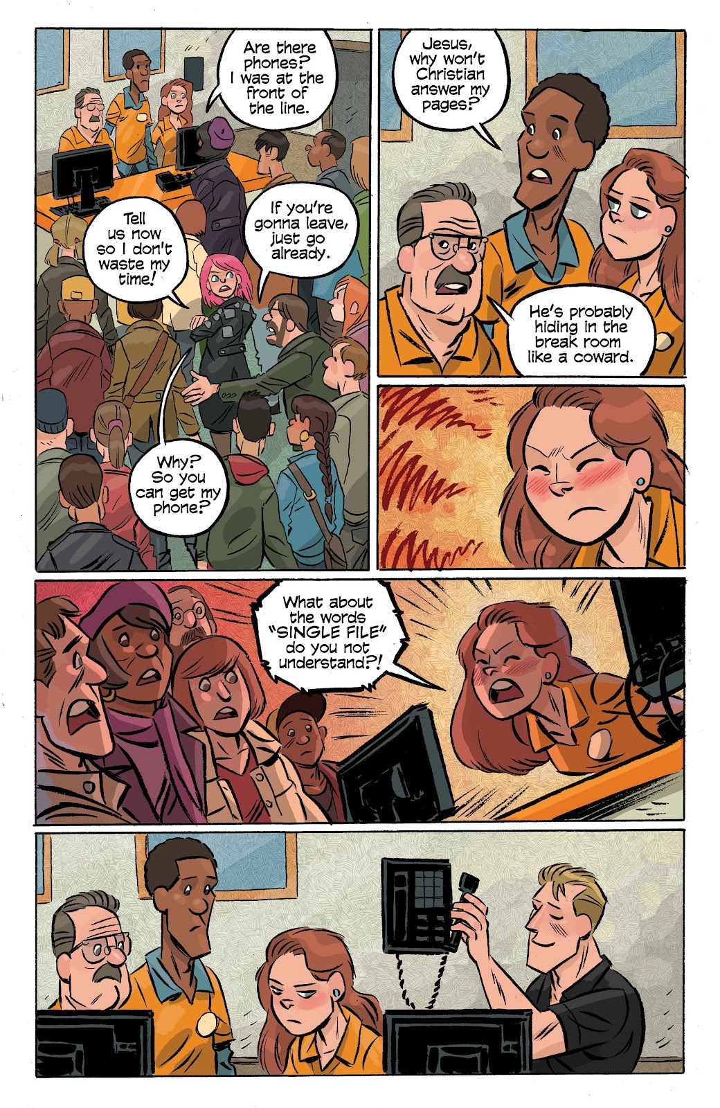 Read online Cellies comic -  Issue #6 - 18