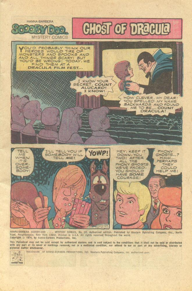 Read online Scooby-Doo... Mystery Comics comic -  Issue #25 - 2