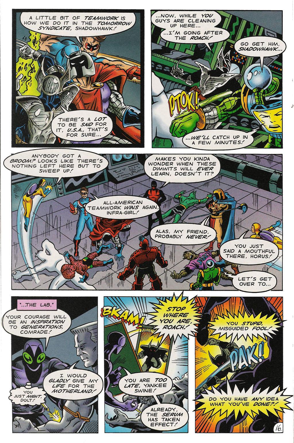 Read online ShadowHawk comic -  Issue #14 - 20