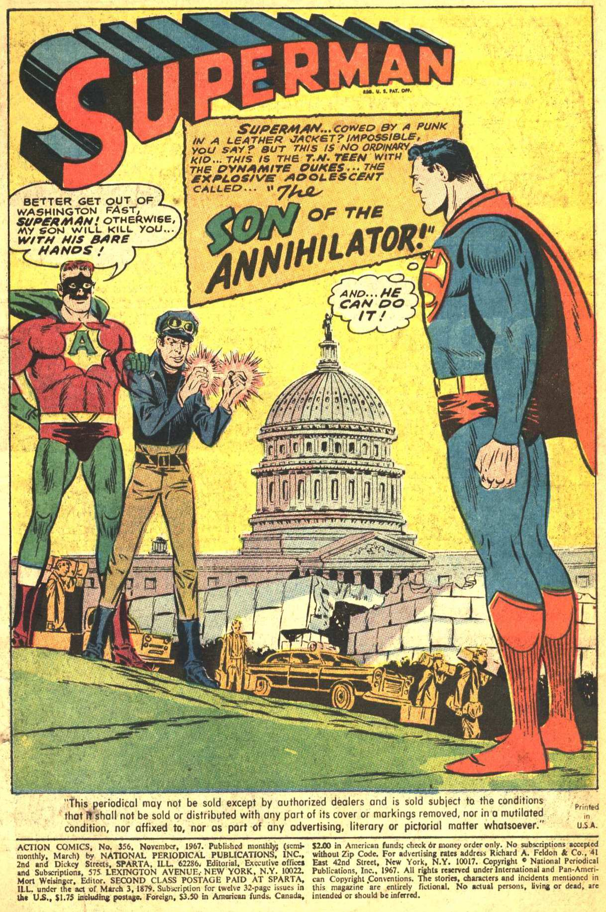 Read online Action Comics (1938) comic -  Issue #356 - 2
