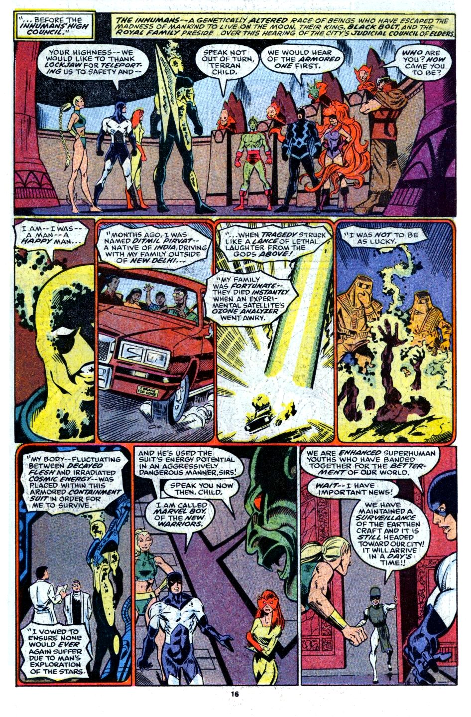 The New Warriors Issue #6 #10 - English 13