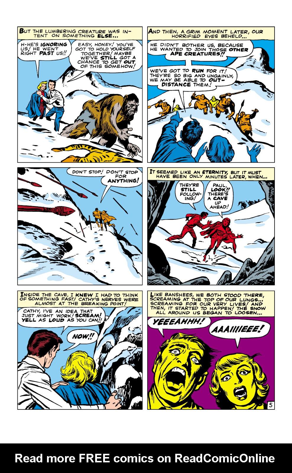 Read online Amazing Adventures (1961) comic -  Issue #3 - 6