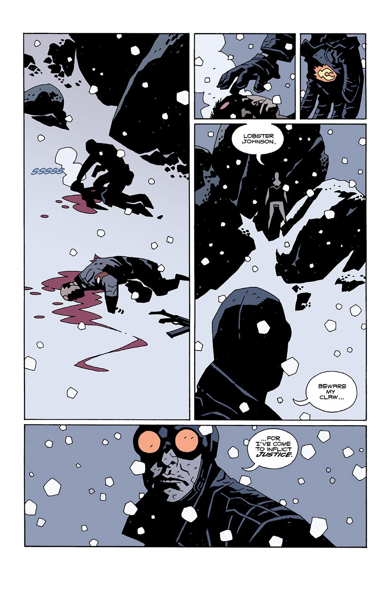 Read online Hellboy: Conqueror Worm comic -  Issue #2 - 9