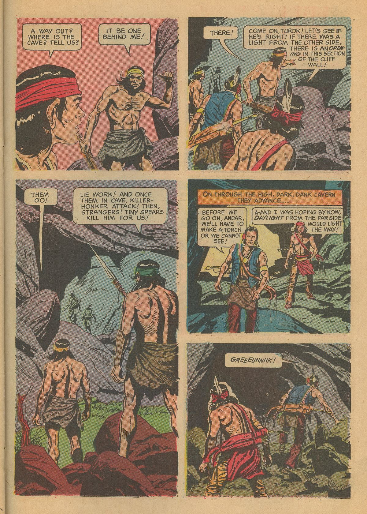 Read online Turok, Son of Stone comic -  Issue #60 - 23