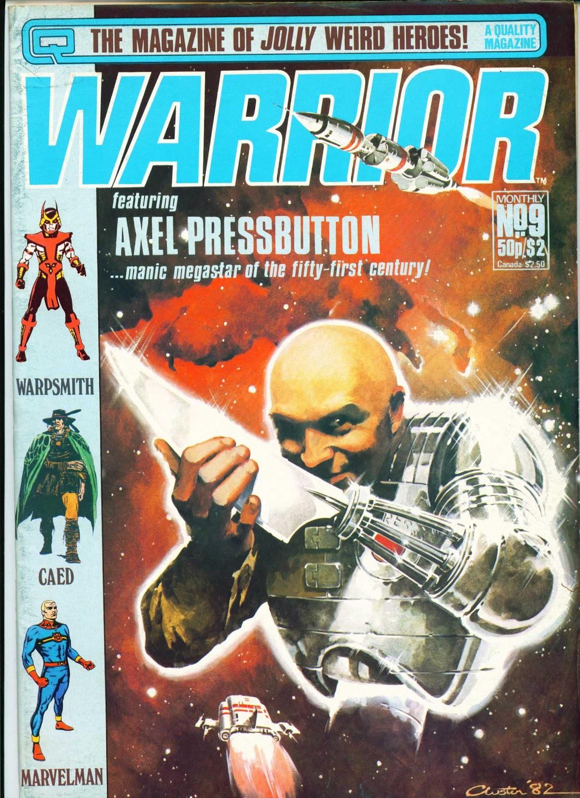 Warrior Issue #9 #10 - English 1
