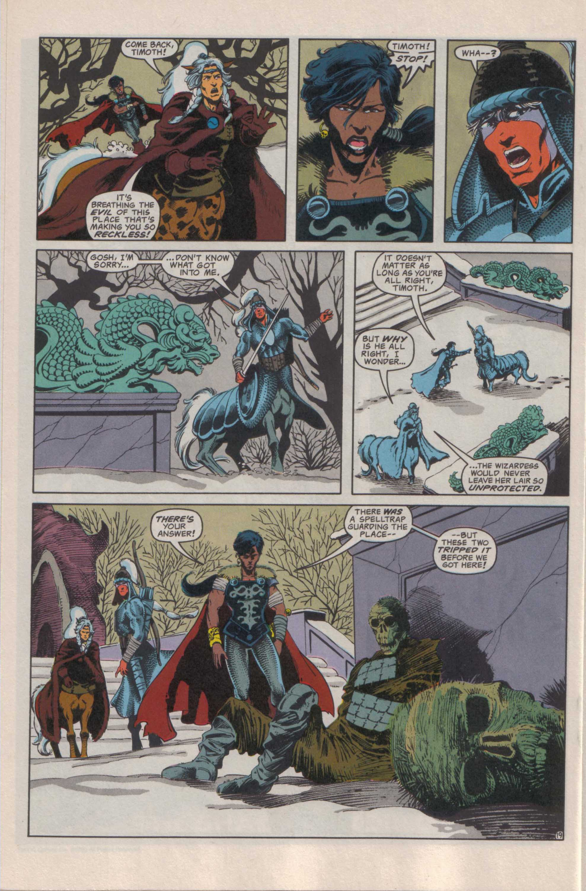Read online Advanced Dungeons & Dragons comic -  Issue #25 - 20