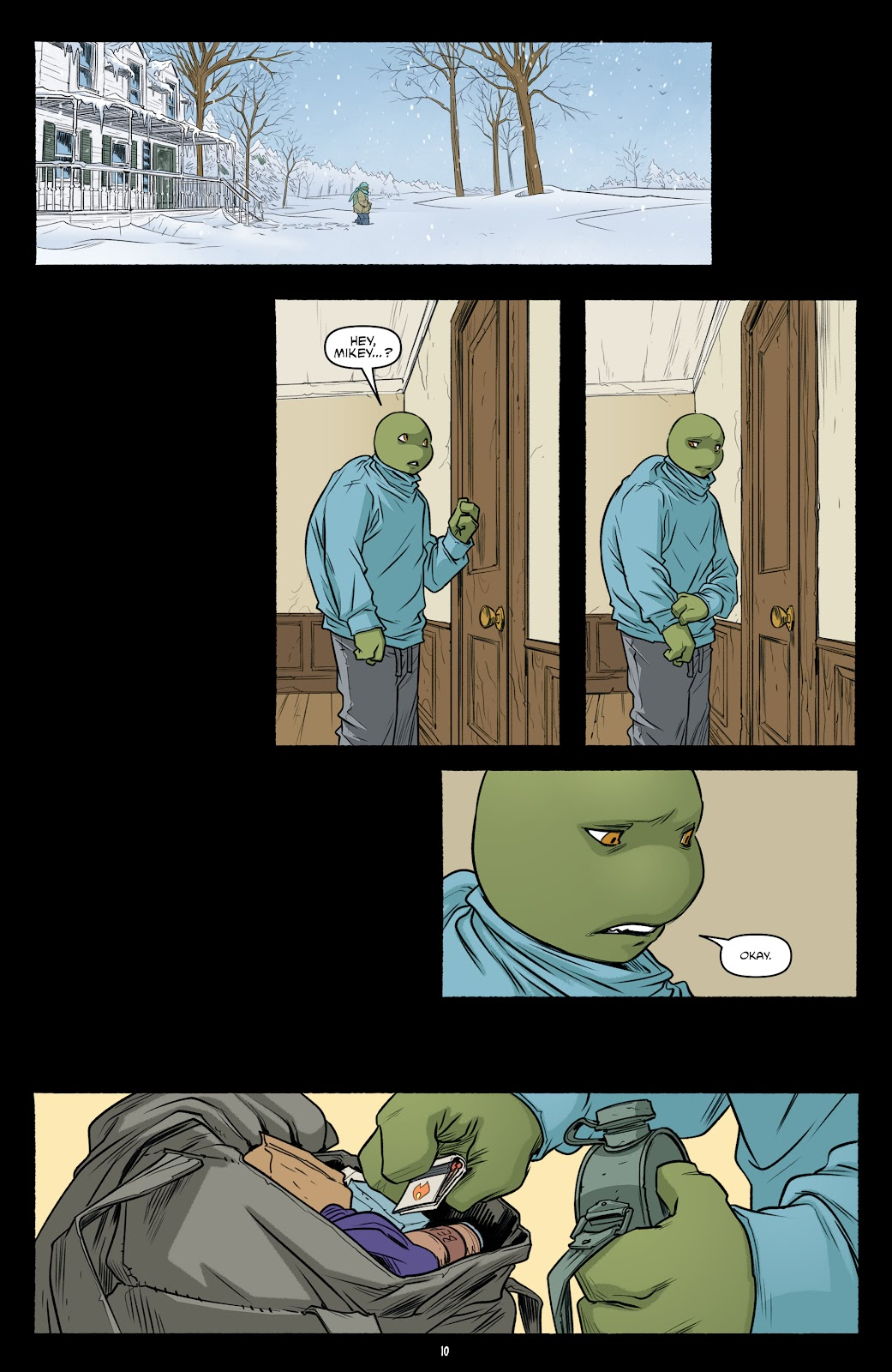 Read online Teenage Mutant Ninja Turtles (2011) comic -  Issue #102 - 12