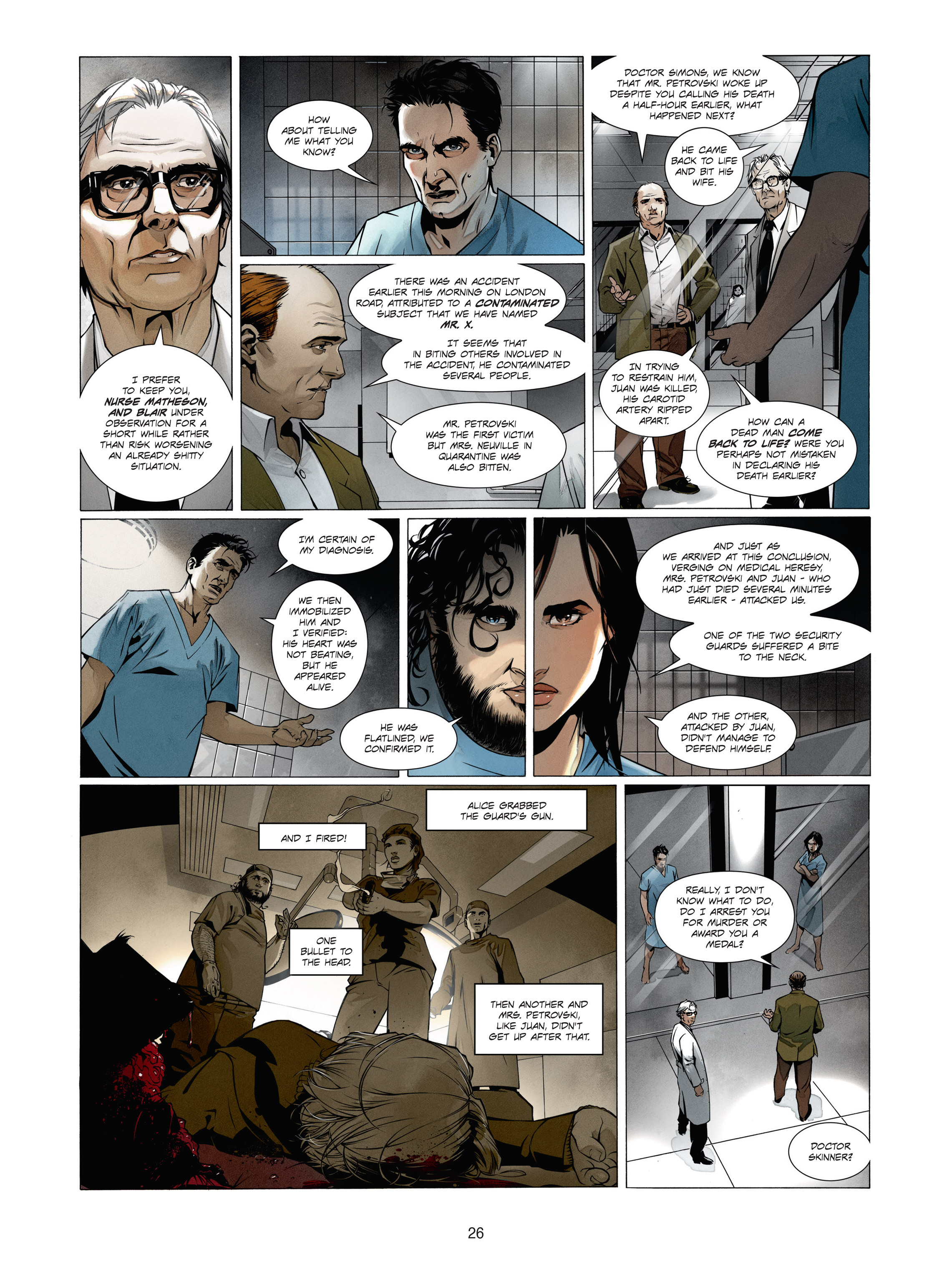 Read online Alice Matheson comic -  Issue #1 - 25