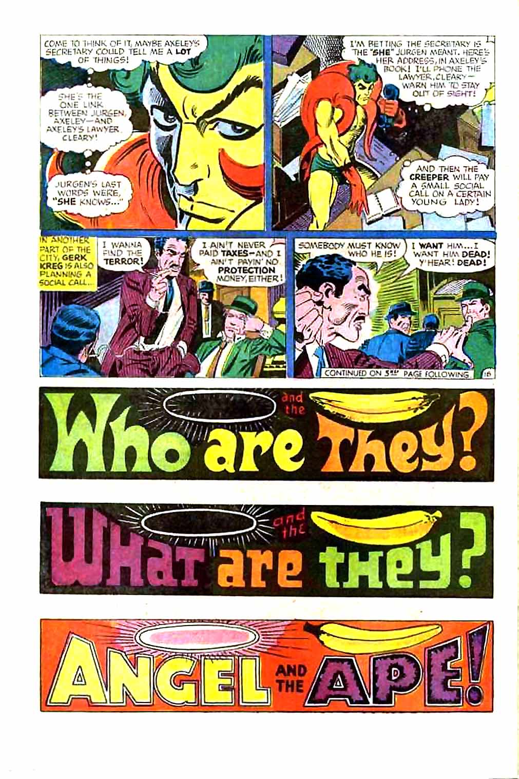Beware The Creeper (1968) issue 1 - Page 22