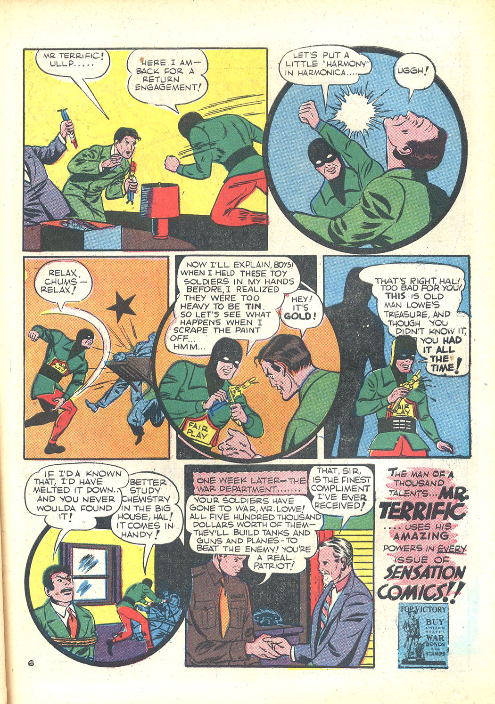 Read online Sensation (Mystery) Comics comic -  Issue #23 - 47