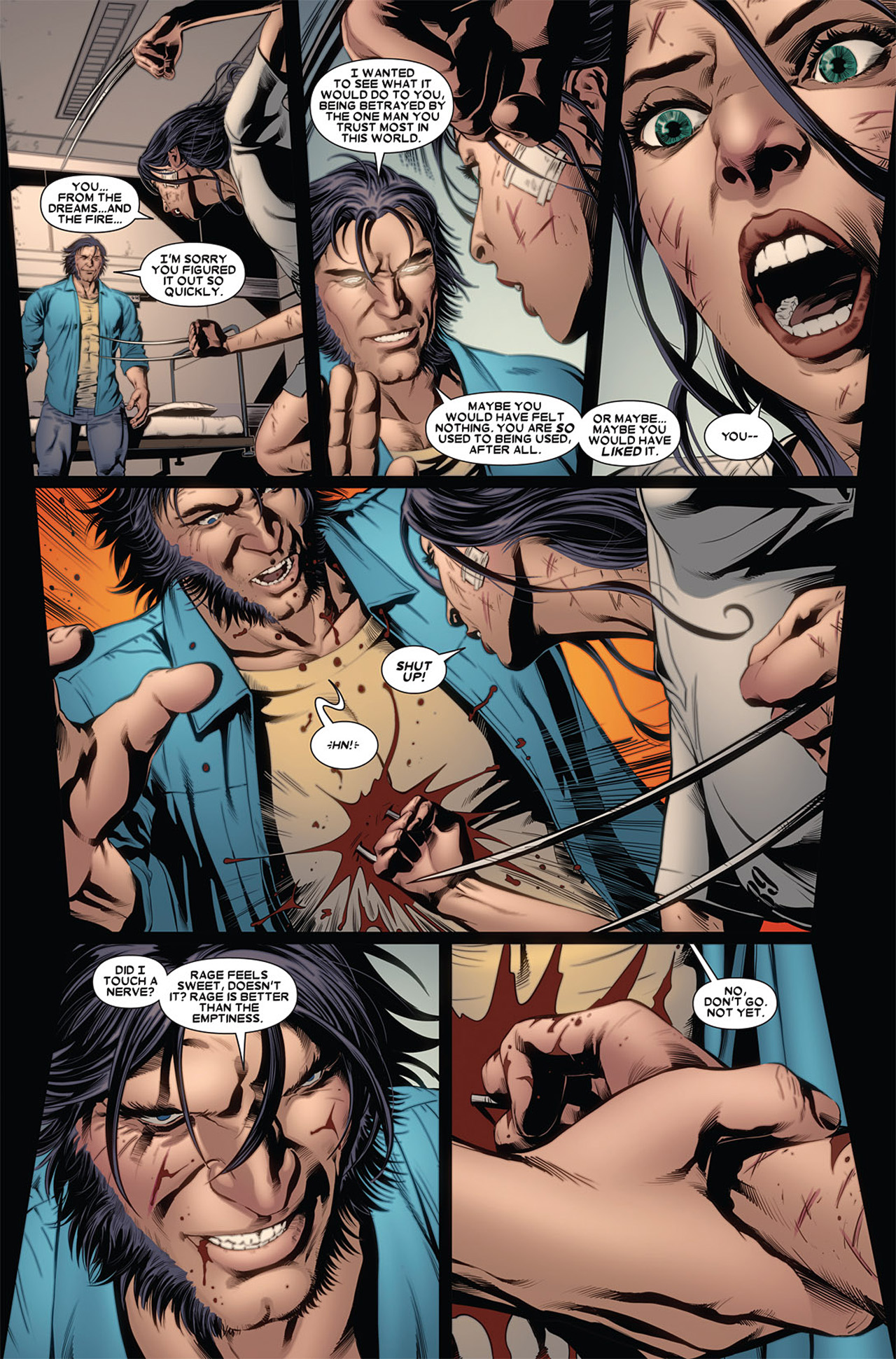 Read online X-23 (2010) comic -  Issue #2 - 17