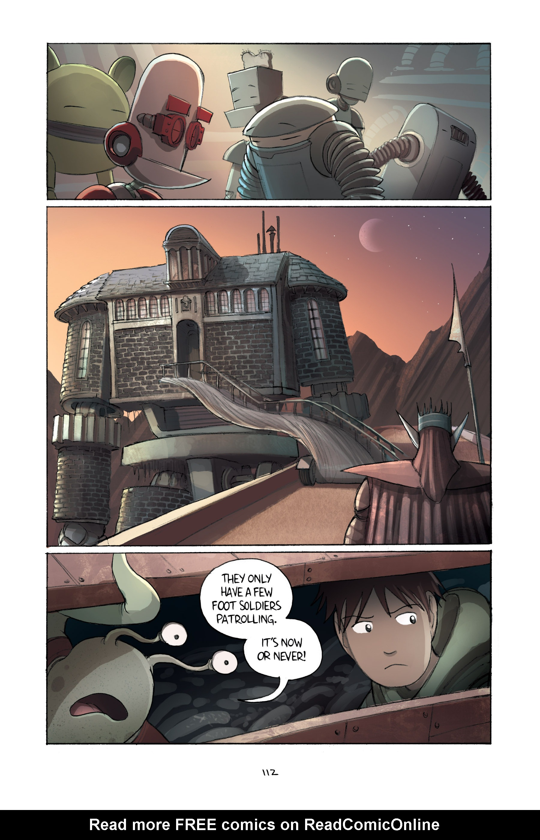 Read online Amulet comic -  Issue #2 - 112