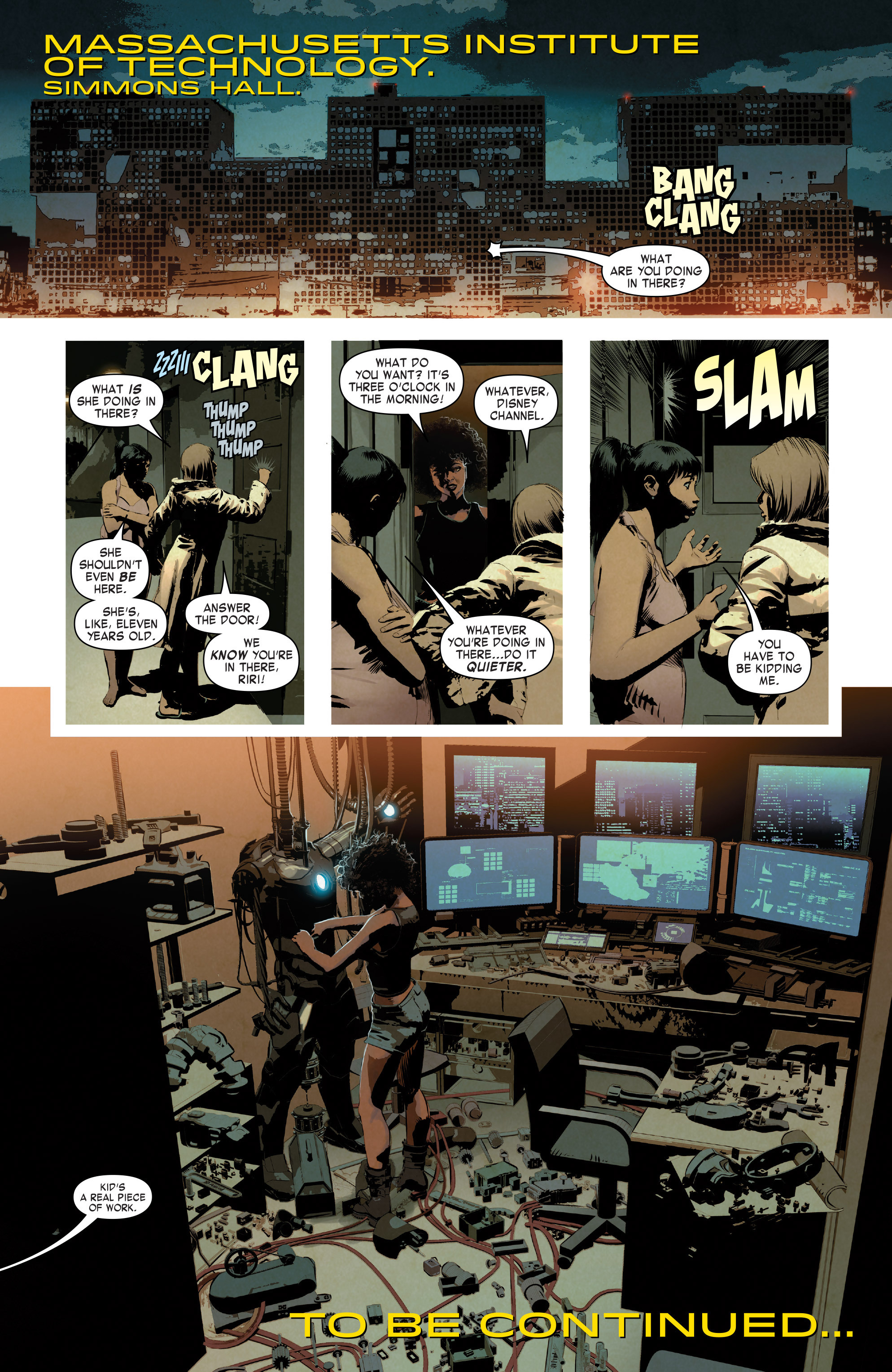 Read online True Believers: Invincible Iron Man-The War Machines comic -  Issue # Full - 43
