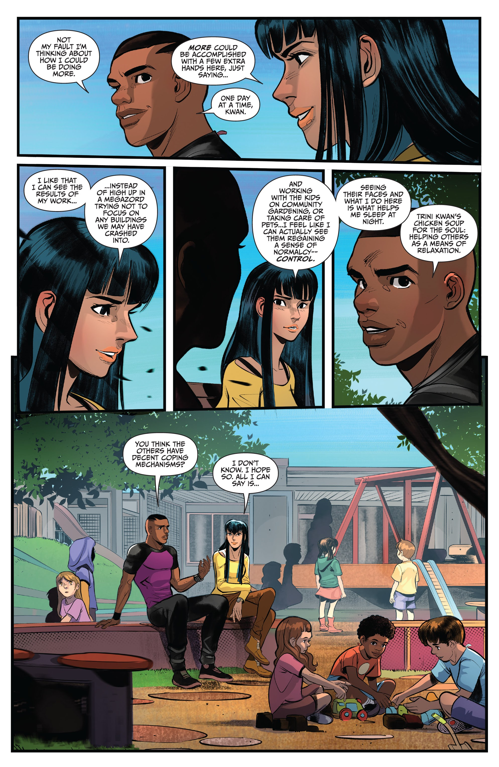 Read online Saban's Go Go Power Rangers comic -  Issue #22 - 15