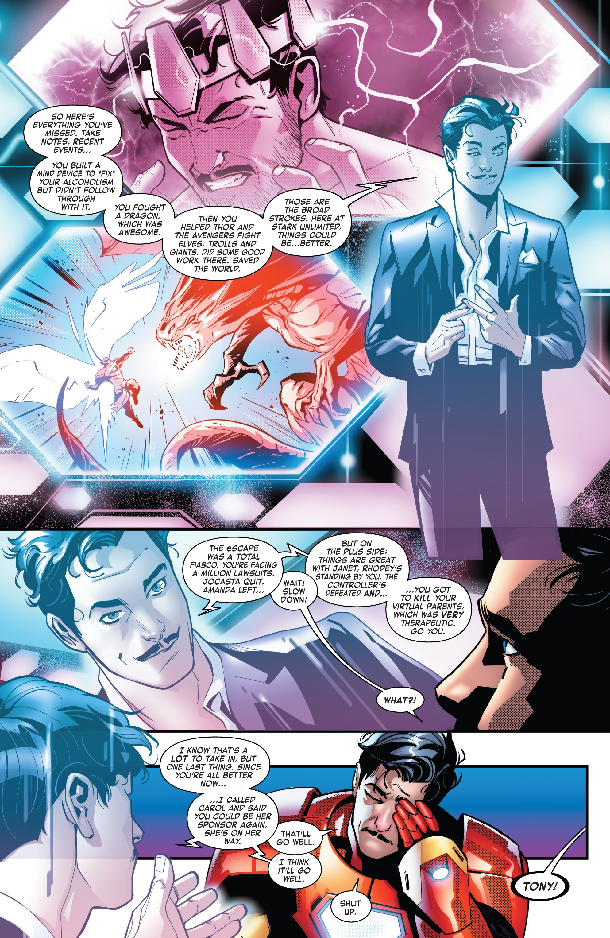 Read online Tony Stark: Iron Man comic -  Issue #14 - 4