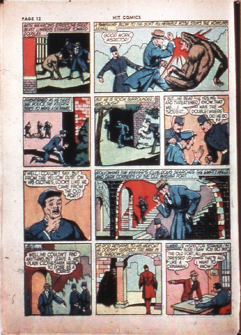 Read online Hit Comics comic -  Issue #4 - 14
