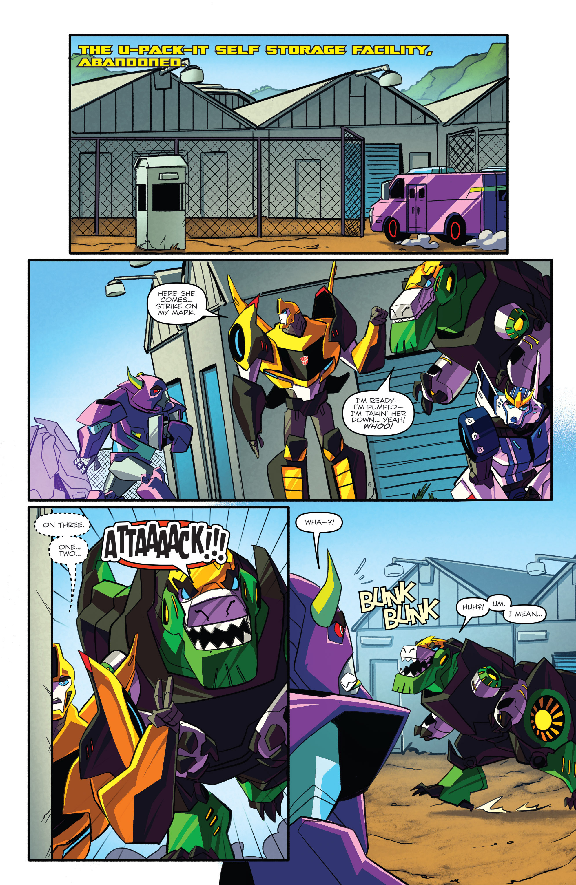 Read online Transformers: Robots In Disguise (2015) comic -  Issue #3 - 11