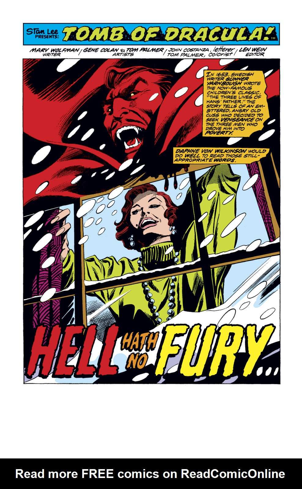 Tomb of Dracula (1972) issue 35 - Page 2