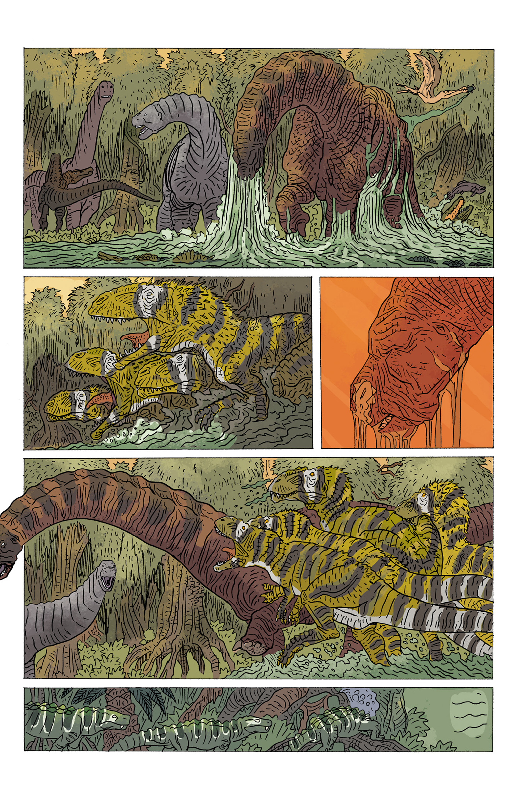 Read online Age of Reptiles: Ancient Egyptians comic -  Issue #4 - 9