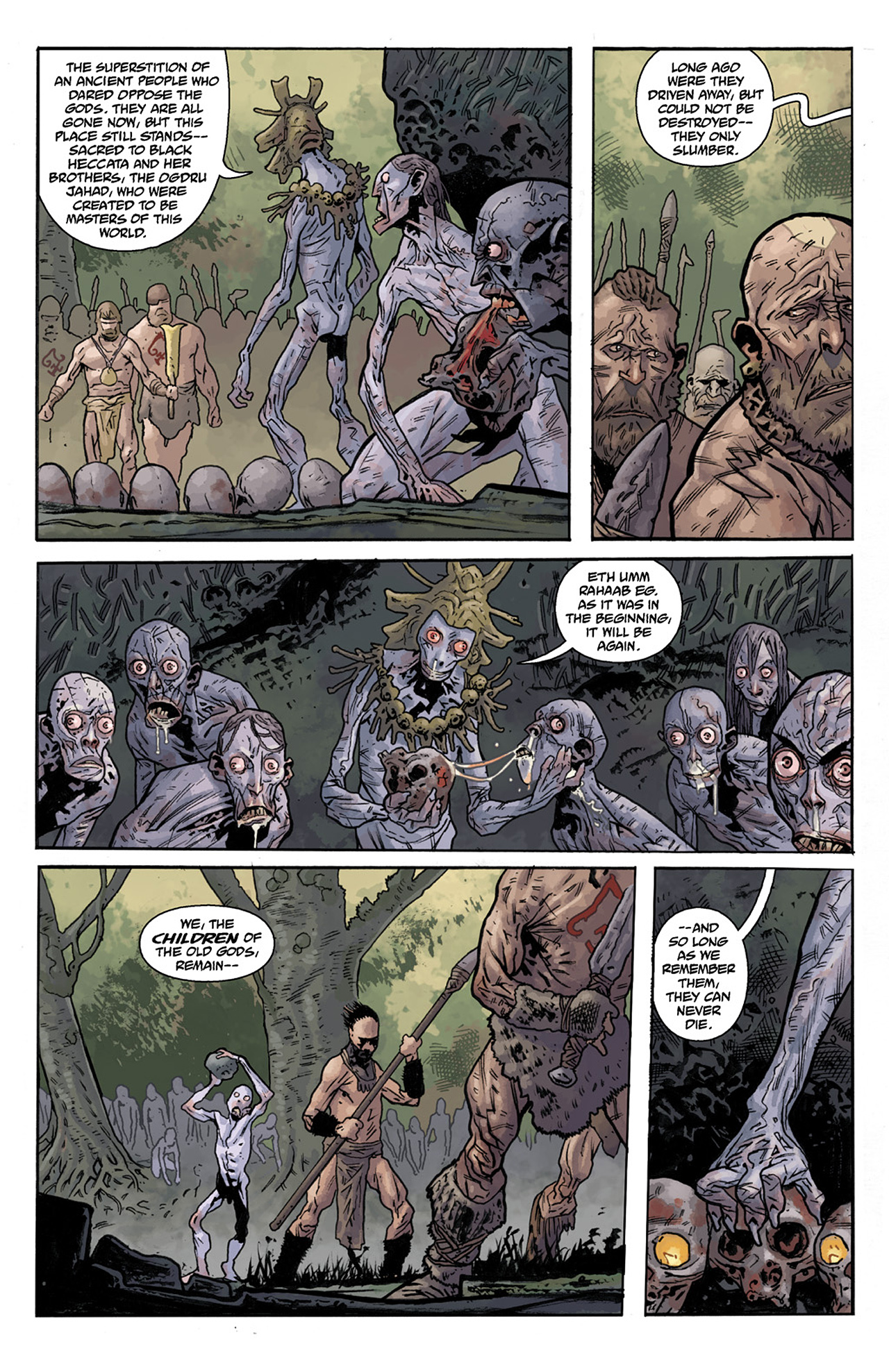 Read online B.P.R.D. Hell on Earth: The Abyss of Time comic -  Issue #104 - 9