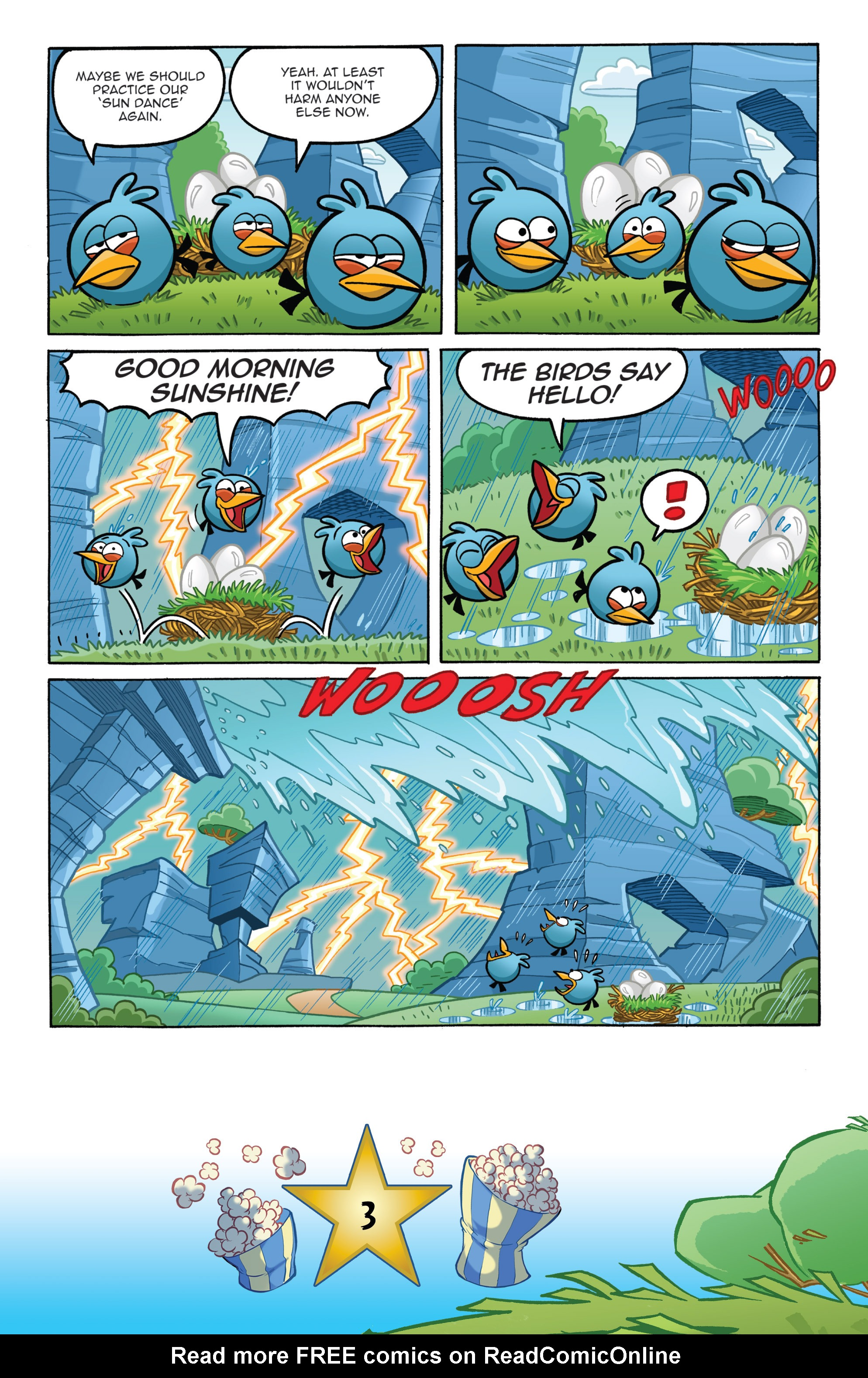 Read online Angry Birds Comics (2016) comic -  Issue #5 - 5