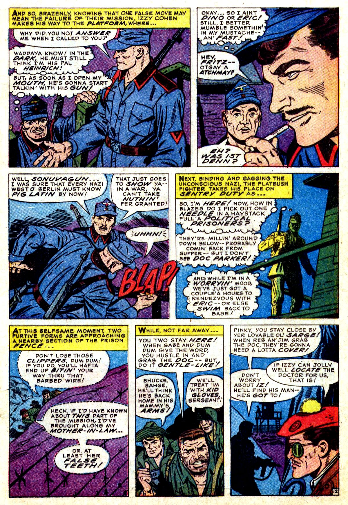 Read online Sgt. Fury comic -  Issue #38 - 17