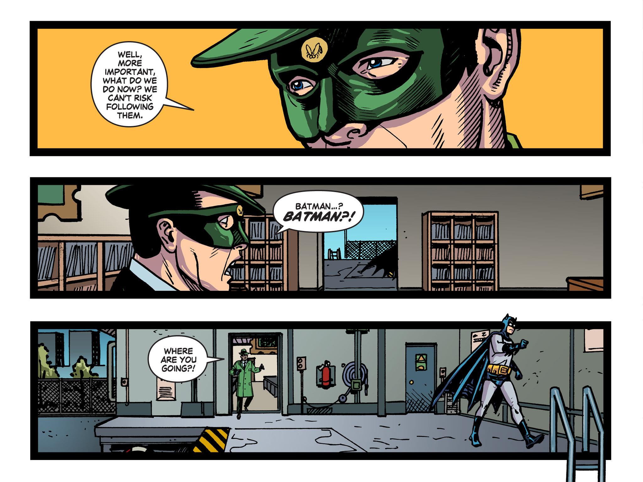 Read online Batman '66 Meets the Green Hornet [II] comic -  Issue #5 - 28