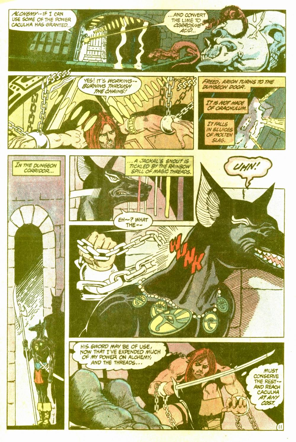 Read online Arion, Lord of Atlantis comic -  Issue #5 - 12