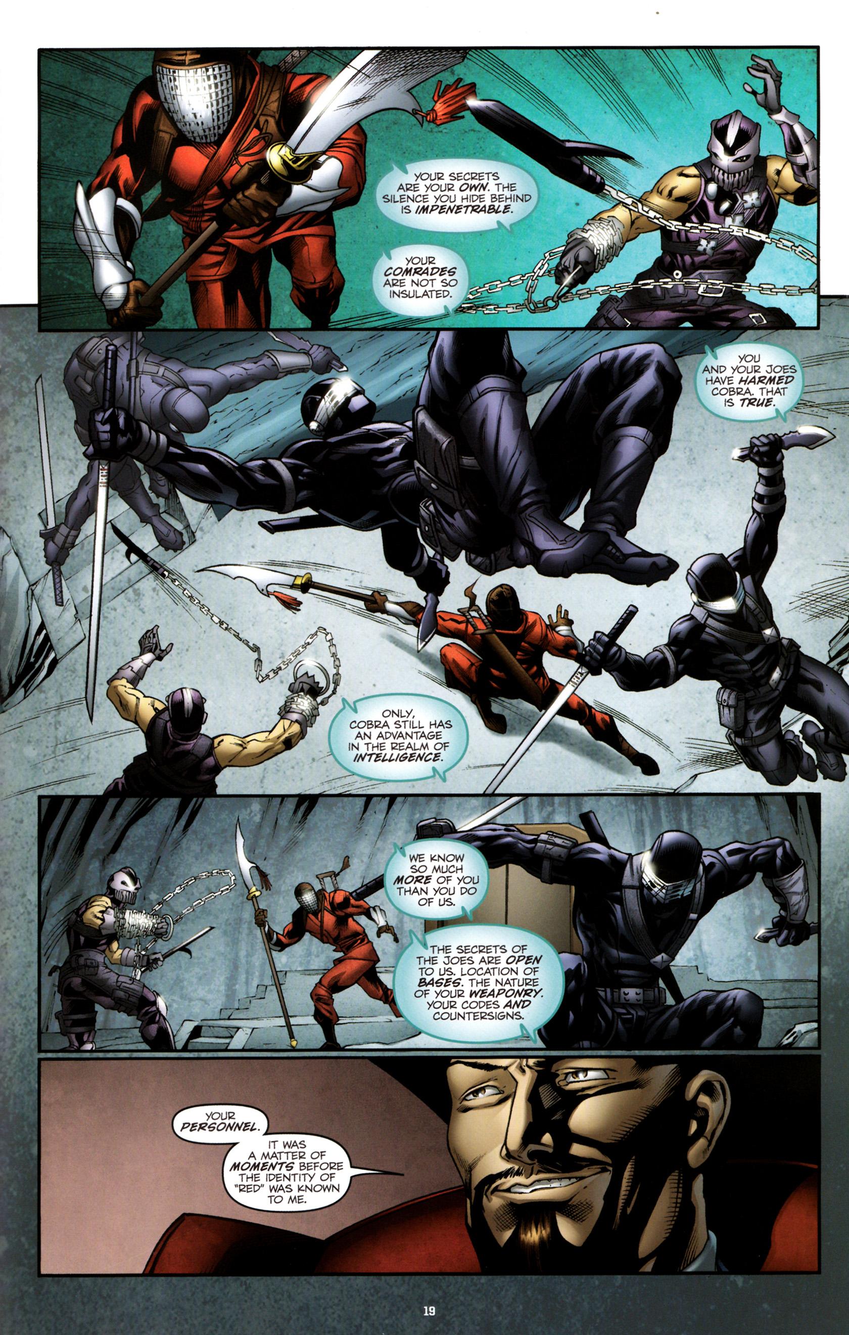 Read online G.I. Joe: Snake Eyes comic -  Issue #3 - 22