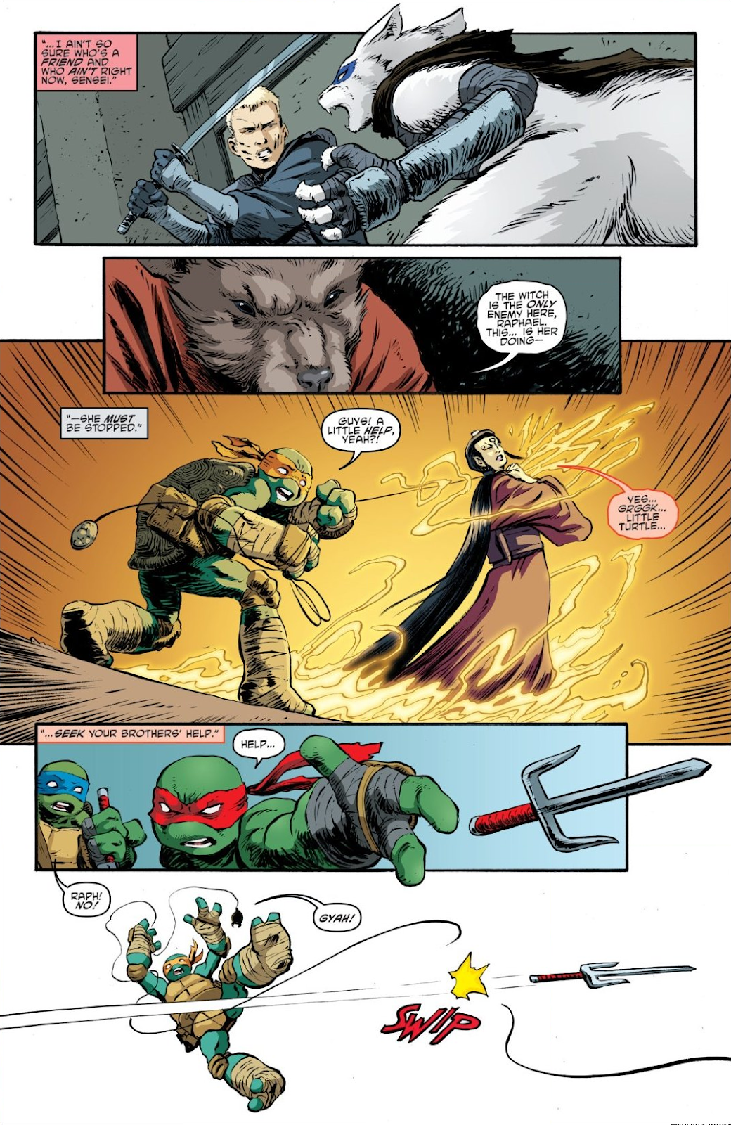 Read online Teenage Mutant Ninja Turtles: The IDW Collection comic -  Issue # TPB 7 (Part 3) - 11