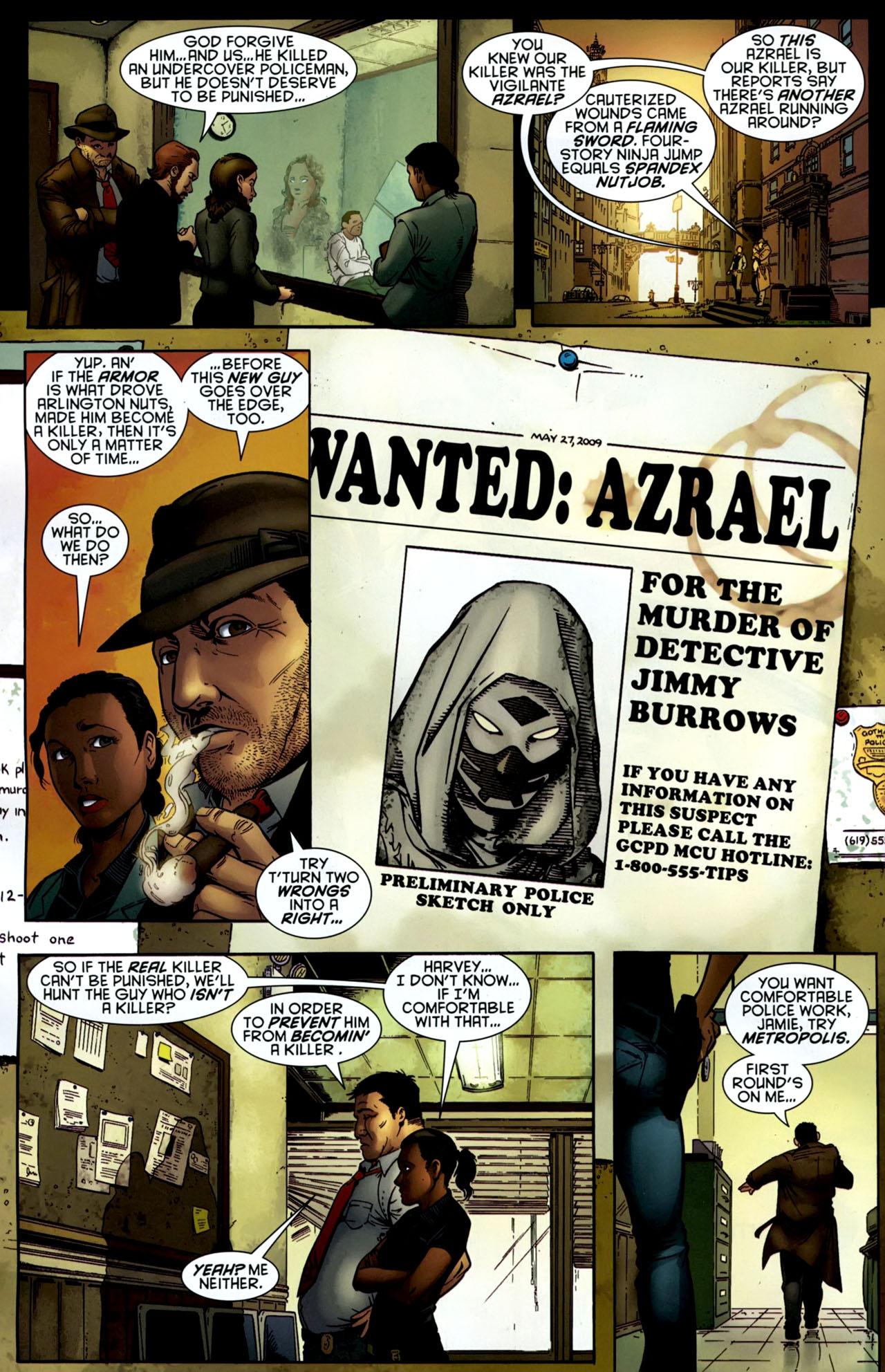 Read online Gotham Gazette comic -  Issue # Issue Batman Alive - 7