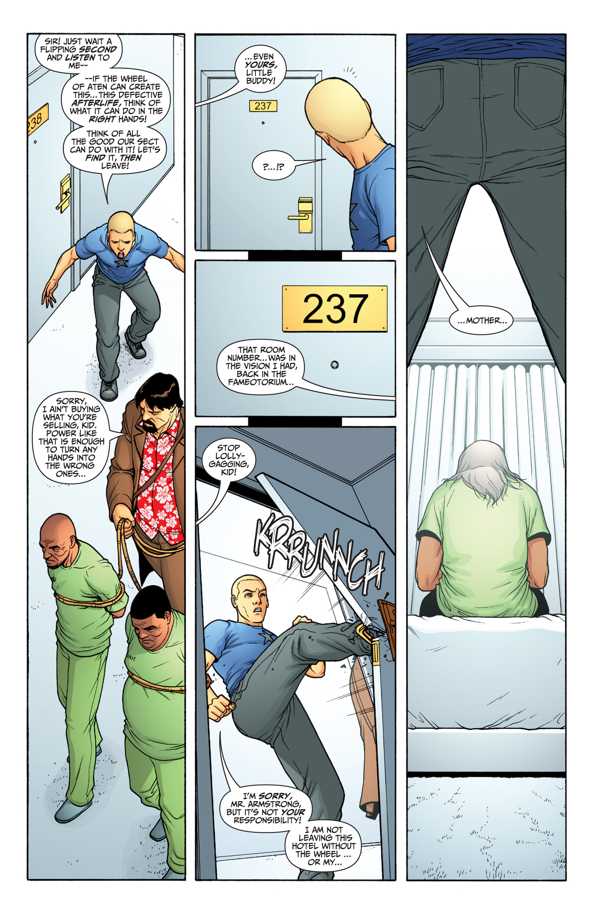 Read online Archer and Armstrong comic -  Issue #Archer and Armstrong _TPB 6 - 47