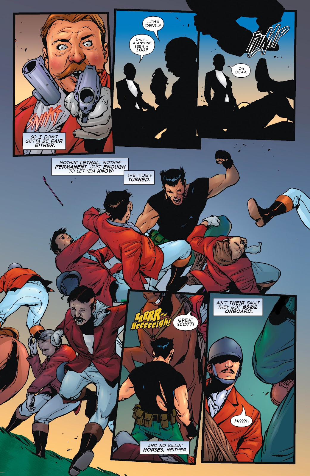 Wolverine: Dangerous Games issue Full - Page 10