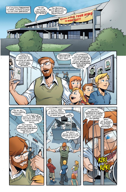 Read online Skrulls vs. Power Pack comic -  Issue #3 - 7