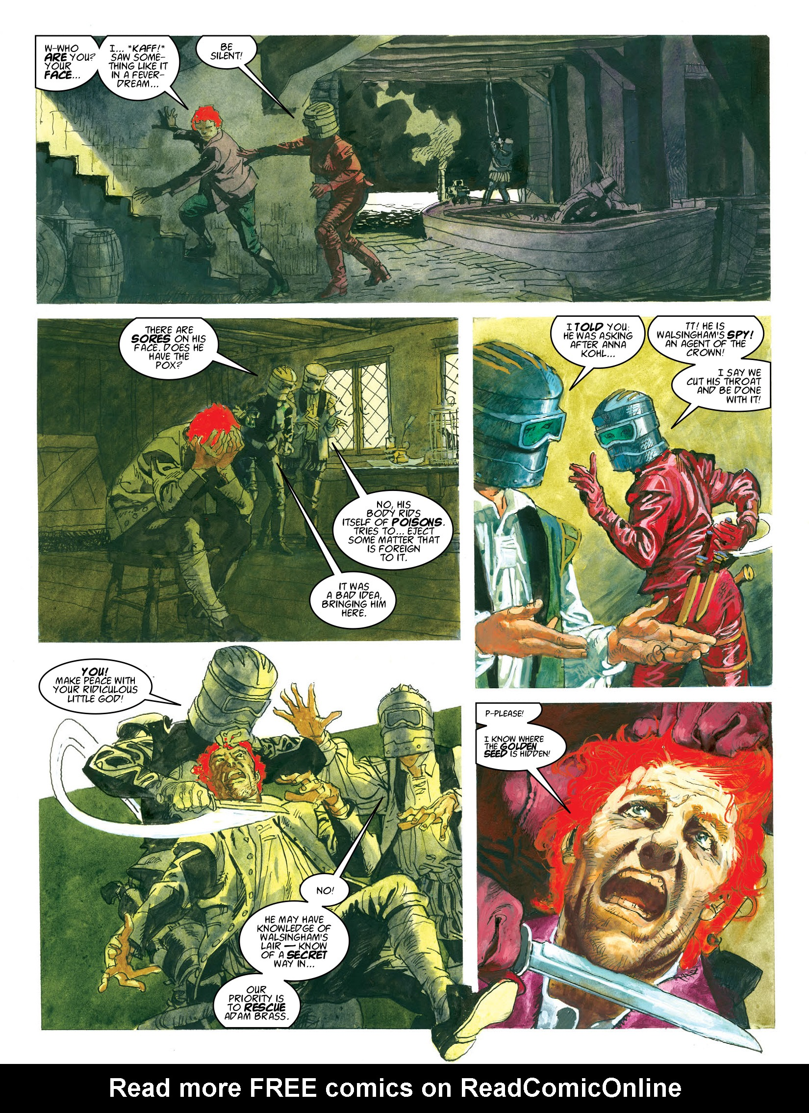 Read online 2000 AD comic -  Issue #1964 - 16