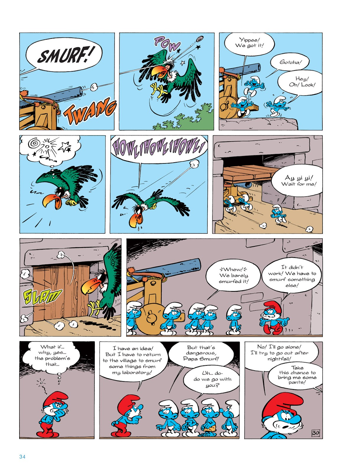 Read online The Smurfs comic -  Issue #6 - 34